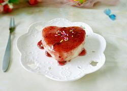 蓝莓酱山药糕