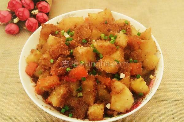 粉蒸土豆的做法