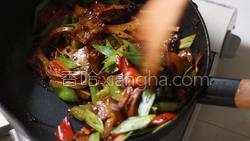 豆豉香干回锅肉的做法图解35