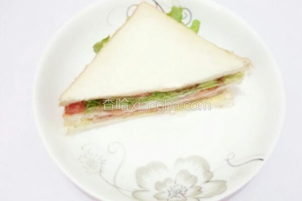 番茄沙拉三明治