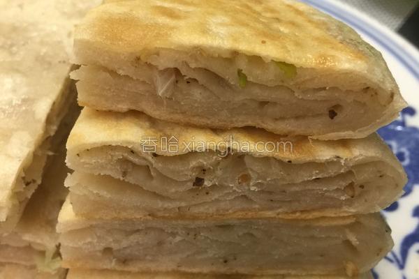 葱香花椒饼