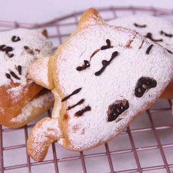 猫咪全麦蜂蜜面包