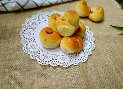豆沙面包卷