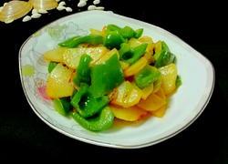 大辣椒炒土豆片