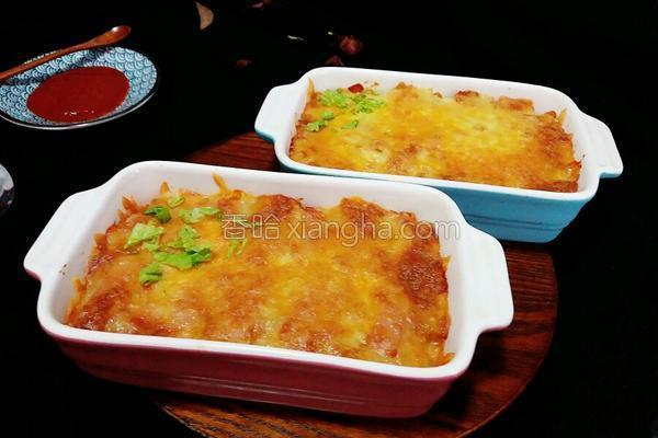 咖喱焗饭的做法