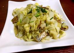 带鱼干炒大白菜