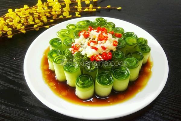 凉拌黄瓜的做法