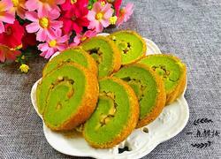 菠菜蛋糕卷(电饭锅版)