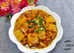 黄豆酱烧米豆腐
