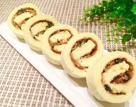 肉松海苔蛋糕卷