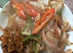 白菜炒撒子(阜阳地方菜)