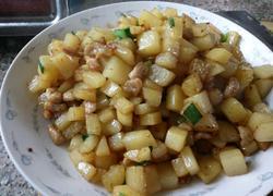 猪肉炒土豆