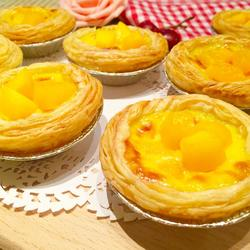 葡式黄桃蛋挞