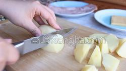 培根土豆卷的做法图解3