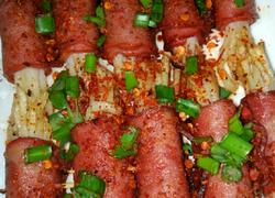 培根土豆丝卷