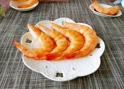 微波炉烤虾