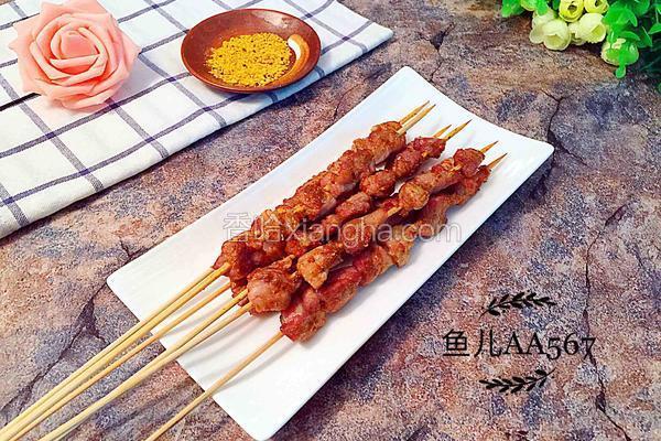 香烤猪肉串