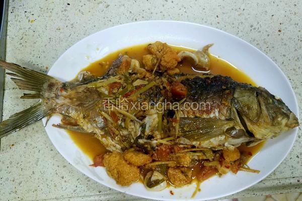 西红柿豆瓣鱼