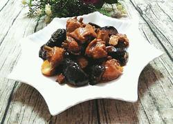 板栗香菇烧鸡翅