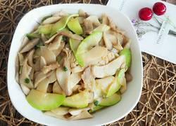 杏鲍菇角瓜炒肉