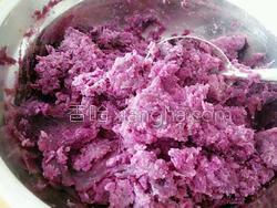 紫薯面包的做法图解3