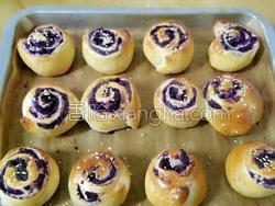 紫薯面包的做法图解8