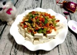 肉丁拌豆腐