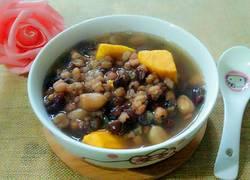 红豆玉米地瓜粥