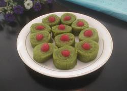 菠菜汁卷饼