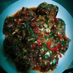 鱼香灯笼茄
