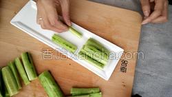 麻酱黄瓜的做法图解5