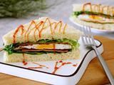 芝士火腿三明治的做法[图]