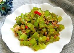 肉末炒芹菜