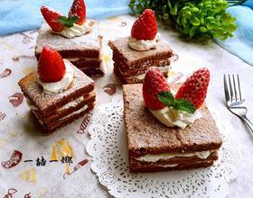 可可奶油夹心蛋糕[图]