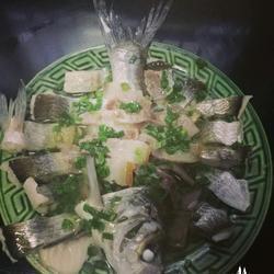 清蒸太湖白鱼
