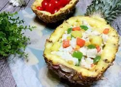 菠萝鸡肉炒饭
