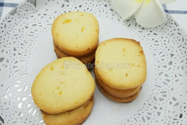 清甜柠檬饼干