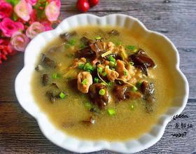 木耳肉片汤