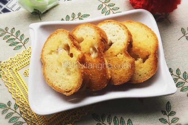 烤法式长棍面包