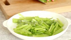 芹菜炒肉的做法图解10