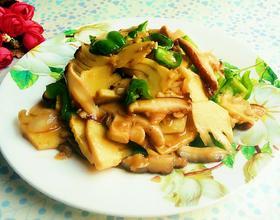 蒜蓉香菇鲜笋