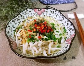 葱油白玉菇