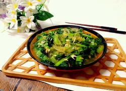虾皮粉丝小白菜