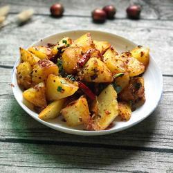 孜然香辣土豆块的做法[图]