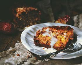 健康免烤快手的 红枣胡萝卜蛋糕