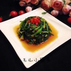 姜汁菠菜的做法[图]