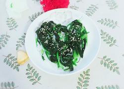 粉丝拌菠菜