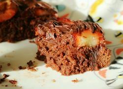 巧克力草莓布朗尼蛋糕