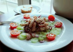 意大利西芹鱿鱼沙拉