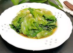 蒜末蚝油生菜